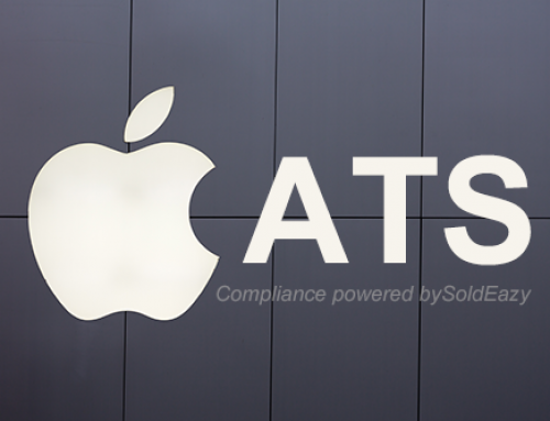 Watch out for Apple ATS compliant requirements