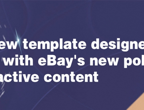 SoldEazy's new template designer helps you deal with eBay's new policy banning active content